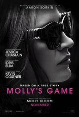 Molly's Game Affiche de film