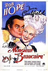 Monsieur Beaucaire Movie Poster