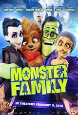 Monster Family Large Poster
