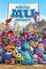 Monsters University 3D Movie Poster