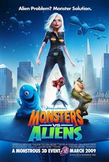 Monsters vs. Aliens Movie Poster Movie Poster