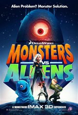 Monsters vs. Aliens: An IMAX 3D Experience Movie Poster