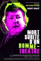 Mort subite d'un homme-théâtre Movie Poster
