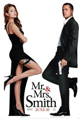 Mr. & Mrs. Smith Movie Poster