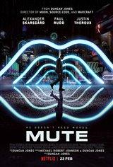 Mute (Netflix) Affiche de film