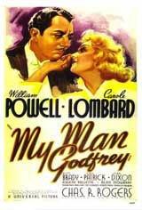 My Man Godfrey Movie Poster