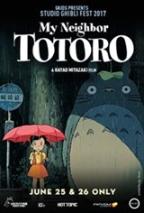 My Neighbor Totoro - Studio Ghibli Fest 2018 Movie Poster