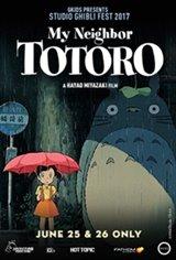 My Neighbor Totoro - Studio Ghibli Fest 2019 Movie Poster