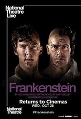 National Theatre Live: Frankenstein (Cumberbatch as Creature) Large Poster