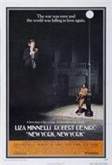 New York, New York Movie Poster