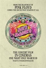 Nick Mason's Saucerful of Secrets: Live at the Roundhouse Affiche de film