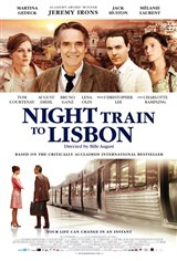 Night Train to Lisbon Movie Poster Movie Poster