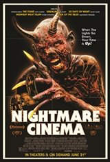 Nightmare Cinema Movie Poster Movie Poster