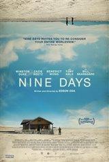 Nine Days (v.o.a.) Affiche de film