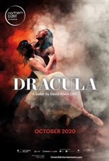 Northern Ballet: Dracula Movie Poster