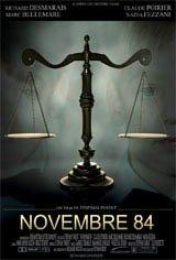 Novembre 84 Affiche de film