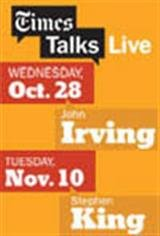 NY Times Talks: A Conversation With John Irving Movie Poster