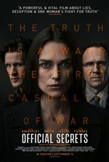 Official Secrets (v.o.a.) Affiche de film