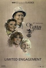 On Golden Pond 40th Anniversary presented by TCM Movie Poster