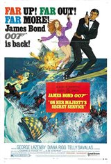 On Her Majesty's Secret Service Movie Poster