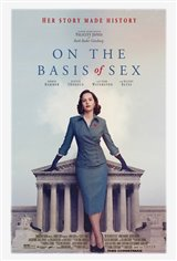 On the Basis of Sex Affiche de film