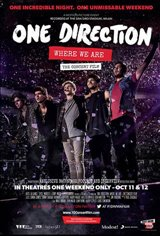 One Direction: Where We Are - The Concert Film Movie Poster Movie Poster