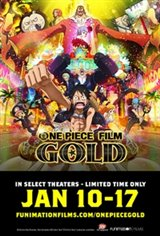 One Piece Film: Gold Movie Poster