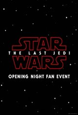 Opening Night Fan Event Star Wars: The Last Jedi The IMAX 3D Experience Movie Poster