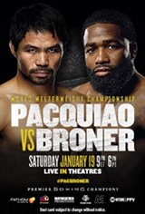 Pacquiao vs. Broner Large Poster