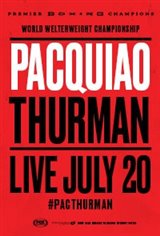 Pacquiao vs Thurman Movie Poster
