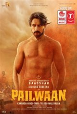 Pailwaan (Pehlwaan) (Hindi) Affiche de film
