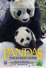 Pandas: The Journey Home 3D Movie Poster