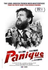 Panique Movie Poster
