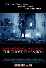 Paranormal Activity: The Ghost Dimension 3D Movie Poster