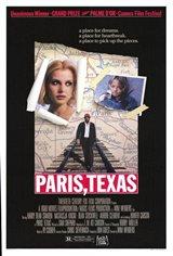 Paris, Texas Large Poster