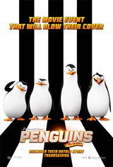 Penguins of Madagascar 3D Movie Poster