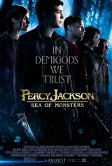 Percy Jackson: Sea of Monsters 3D Movie Poster