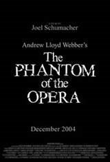 Phantom of the Opera (Live Music) Movie Poster