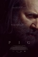 Pig Movie Poster Movie Poster
