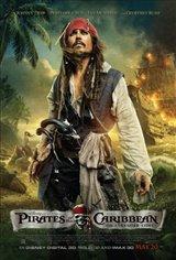 Pirates of the Caribbean: On Stranger Tides 3D Movie Poster