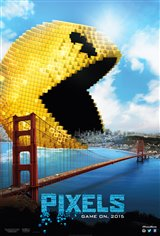 Pixels Movie Poster Movie Poster