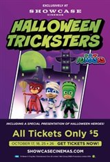 PJ Masks: Halloween Tricks Movie Poster