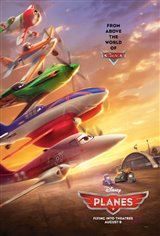 Planes 3D Movie Poster
