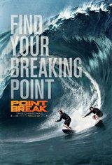 Point Break 3D Movie Poster