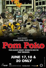Pom Poko - Studio Ghibli Fest 2018 Movie Poster