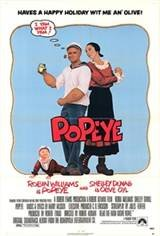 Popeye (1980) Movie Poster