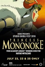 Princess Mononoke - Studio Ghibli Fest 2018 Movie Poster