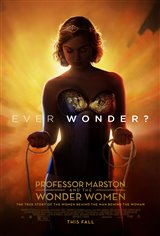 Professor Marston & the Wonder Women (select cities) Poster