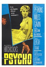 Psycho (1960) Movie Poster Movie Poster