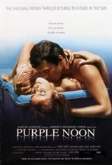 Purple Noon (Plein soleil) Movie Poster